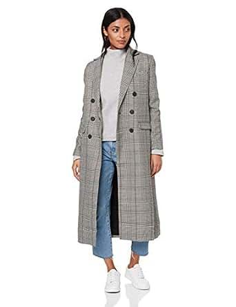Grace Willow Women's Sanders Coat, MerlotCheck, L