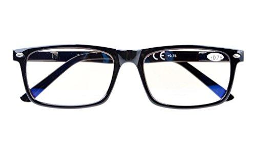 UV Protection,Anti Blue Rays,Reduce Eyestrain,Computer Reading Glasses Readers