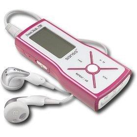 - Sandisk 1GB Sansa m240 MP3 Player with Digital FM Tuner PINK (SDMX3-1024-A18B Pink)