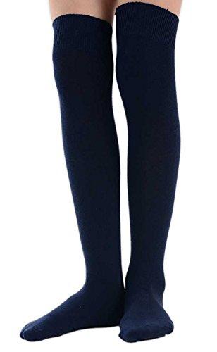 Tailles Chaussettes Variées Fille Navy Pour Couleurs Et Paire Scolaire Haute 1 De w7qFxzYU