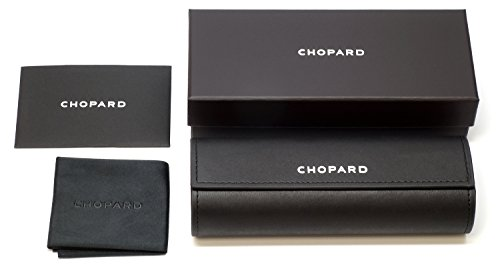 Chopard Official Accessories, Hard Eyeglass Case, Box, Microfiber Cloth