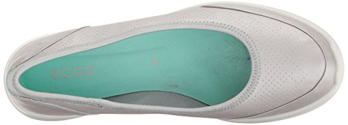 Womens Toe Ecco Flats Closed Alusilver Slide Sense Pq4wn6x4Rd