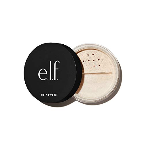 e.l.f, High Definition Powder, Loose Powder, Lightweight, Long Lasting, Creates Soft Focus Effect, Masks Fine Lines and…