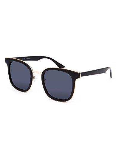 FULL TILT Metal Square Sunglasses, - Moss Sunglasses