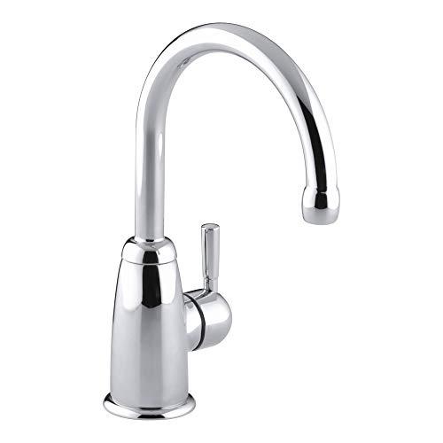 (KOHLER K-6665-CP Wellspring Beverage Faucet, Polished Chrome)