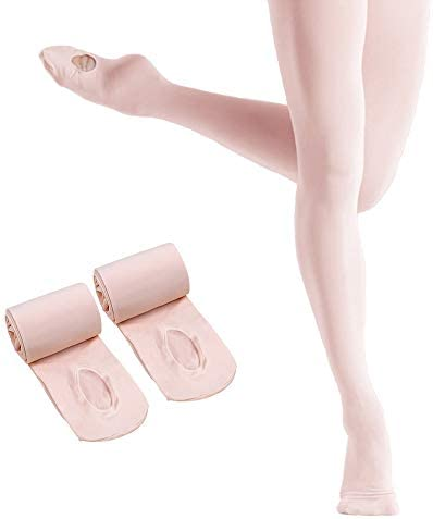 Ballet Tights Girls Convertible Footed product image
