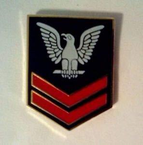 - U. S. Navy 2nd Class Petty Officer Hat Pin 1