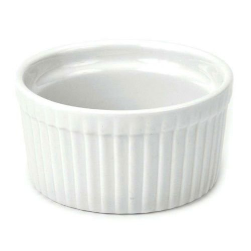 Bia Cordon Bleu Inc 900009 6 Oz White Porcelain Ramekin (set of 4)