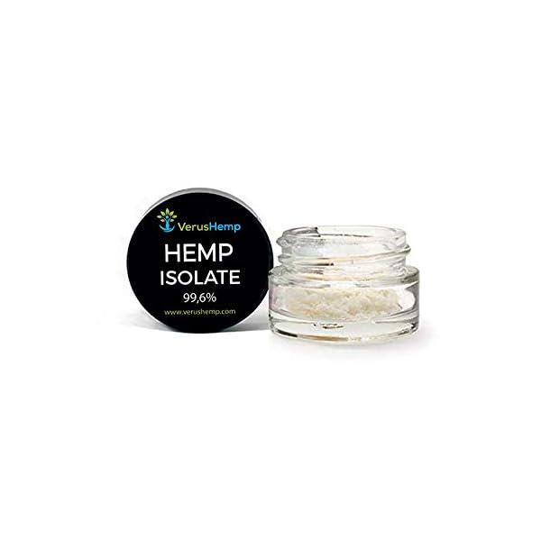 Hemp Isolate Genuine 99% Purity, Lab Tested