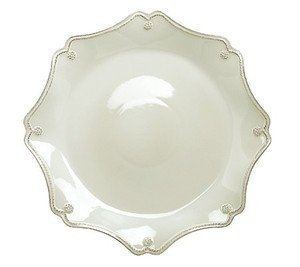 Juliska Berry & Thread Scallop Dessert Plate, Whitewash by Juliska