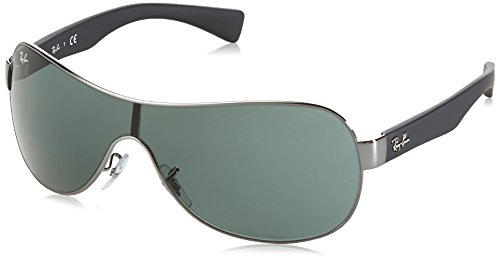 Ray-Ban RB3471 - GUNMETAL Frame GREEN Lenses 32mm - Ray Polarized Or Not Ban