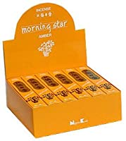 Morning Star Amber Incense 50 Sticks
