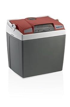 MOBICOOL G30ACDC Glaciè re é lectrique portable rouge/gris, 29L, 12/230V, 18° C en dessous de la tempé rature ambiante, p396xh445xl296mm, port USB, Norme FR, [Classe é nergé tique A+++] [Classe énergétique A+++] 91035