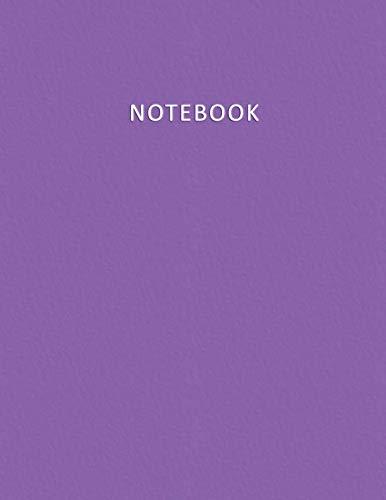 Notebook: Quaderno per appunti con 100 pagine bianche e numerate – Elegante e Moderno color Viola / Violetto – Misura A4 – Diario, Doddles, Schizzi, Disegni, Note, Memorie (Italian Edition)