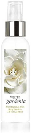 White Gardenia Alcohol-free Fine Fragrance Mist by Body Exotics 3.5 Fl Oz 103 Ml ~ the Intoxicating Scent of White Gardenia in Full Bloom
