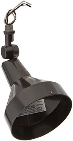 RAB Lighting H101B 150-watt Max. Par38 Landscape Lighting Flood Fixture 120-volt, Black