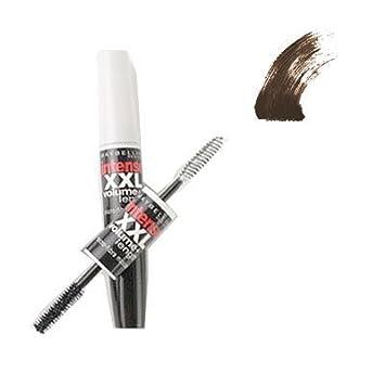 e87bb3d8157 Amazon.com : Maybelline Intense XXL Volume + Length Microfiber Mascara 552  Brownish Black : Beauty