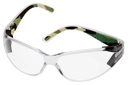 Body Glove 90217 V-Line High Impact Safety Glasses, Clear Frame ...