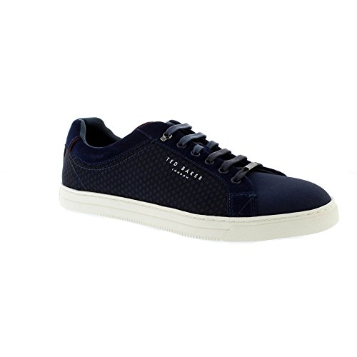 Ted Baker Mens Dark Blue Sarpio Sneakers-UK - Ted Stockist Baker