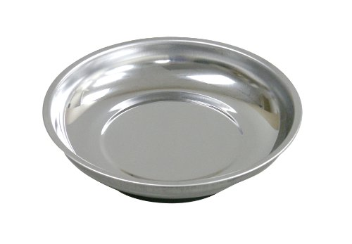 WorkShop 81902RP 4-Inch Round Magnetic Parts Tray by Workshop