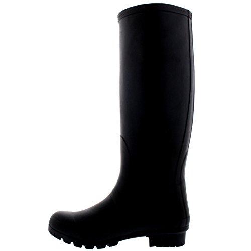 6 Original Polar Rain CD0001 37 Winter Boot Wellington Womens Waterproof Snow Black Tall Wellies Tf5qPwf