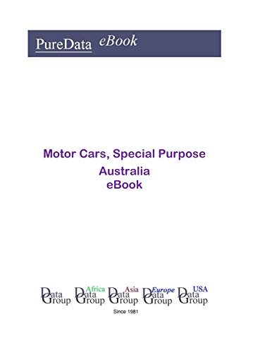 Motor Cars, Special Purpose in Australia: Market Sales