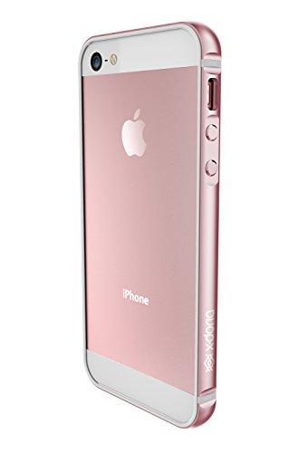 iPhone 5se/5s/5 X-Doria Bump Gear Plus Premium Protective Bumper Case, Rose Gold