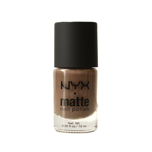 NYX Professional Makeup Matte Nail Polish , Taupe ,  1.76 Ounce (Nyx Nail Nails Polish)