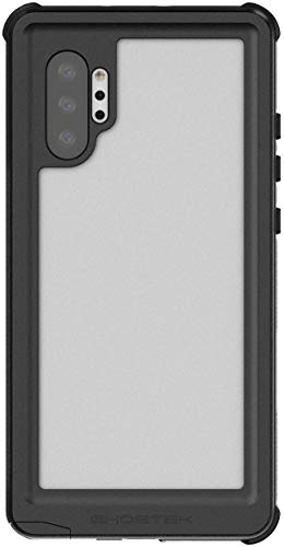 """Ghostek Nautical Galaxy Note10 Plus Waterproof Case Dual Layer Full Body Shell Heavy Duty Protection with Shock Absorbing Corners Underwater Phone Cover for Samsung Galaxy Note10+ 5G (6.8"""") - Red"""