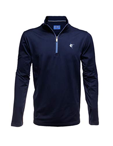 White Water Montauk Performance 1/4 Zip Pullover - Navy XL