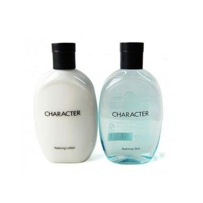 KOREAN COSMETICS, LG Household & Health Care_ Character Refining Skin &Lotion set. (Skin 350ml + Lotion 350ml)...