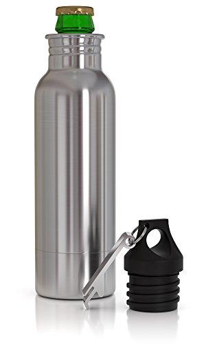 Beer Bottle Cooler, Insulator and Holder, Keeps Beer - Beer Bottles Cooler