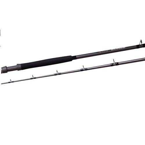 Fin Nor FSGC7040 Surge Saltwater Fishing Rods, 7-Feet 0-Inch 30-50-Pound, Grey and Black Surge