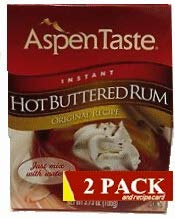 Aspen Mulling Spice Assorted 2-Packs (Hot Buttered Rum) (Best Rum For Hot Toddy)