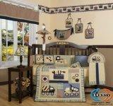 GEENNY Boutique 13 Piece Crib Bedding Set, Baby Boy Constructor