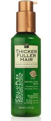 Thicker Fuller Hair Instantly Thick Serum 5oz. Cell-U-Plex (Best Hair Serum For Fine Hair)