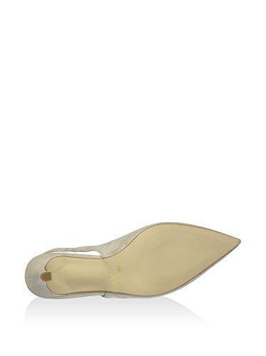 Zapatos de Talón Abierto Mxp602 Beige Claro EU 41 Cafènoir hcypzc2X