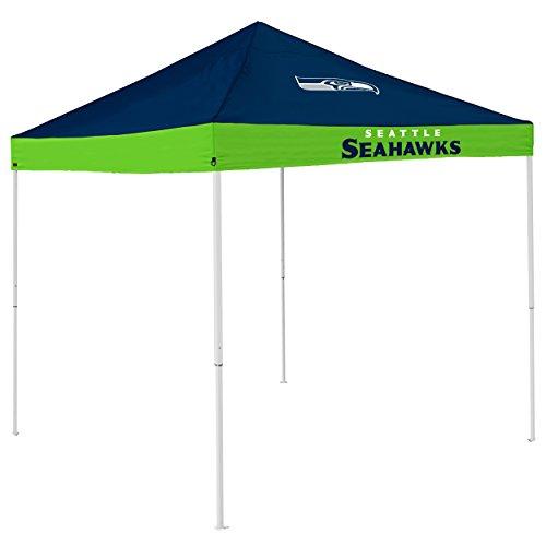 Logo Brands NFL Seattle Seahawks Economy Tent Economy Tent, Navy, One Size