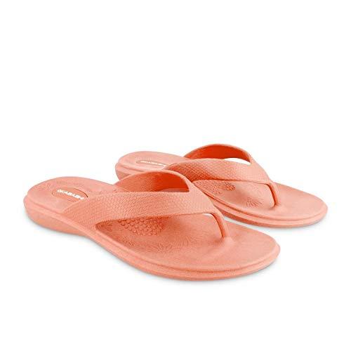 - Okabashi Women's Maui Flip Flops - Sandals (ML - (W 8-9), Coral)