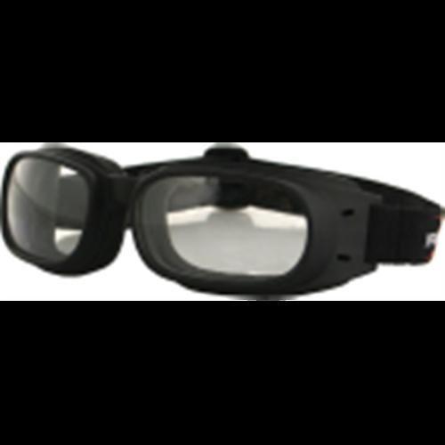 Bobster bpis01c sunglasses piston w/clear lens (BPIS01C)