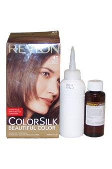 ColorSilk Beautiful Color #40 Medium Ash Brown by Revlon ...
