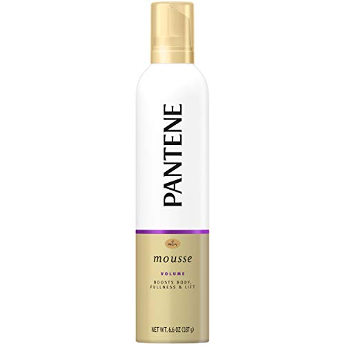 Pantene Pro-V Triple Action Styling Mousse, 6.6 OZ