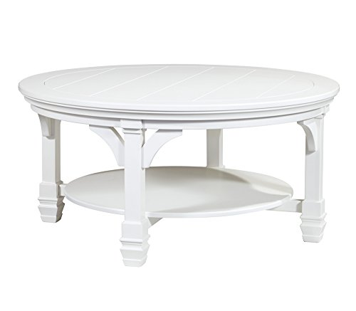 Ashley Furniture Signature Design - Mintville Contemporary Round Cocktail Table - - Style English Table Coffee