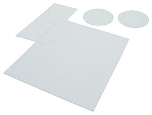 K-T Industries 4-1194 Clear Plastic Plate, 50mm