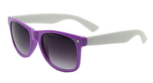de Wf26 classique ® soleil Shop White Purple ASVP Lunettes UV400 Wayfarer Pq6g6A