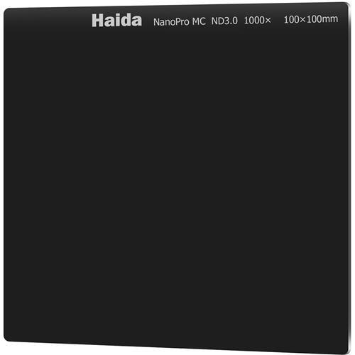 Haida NanoPro MC 100mm ND1000 Filter Optical Glass Neutral Density ND 3.0 10 Stop 100 Cokin Z Compatible