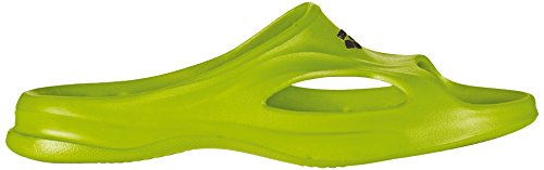 Arena Hydrosoft - Sandalia piscina para hombre, color Verde lima/Negro, talla 44