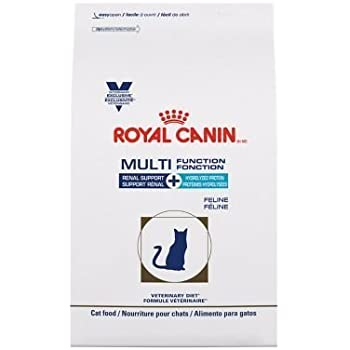 Royal Canin Veterinary Diet Feline Multifunction Renal Support + Hydrolyzed Protein Dry Cat Food 6.6 lb