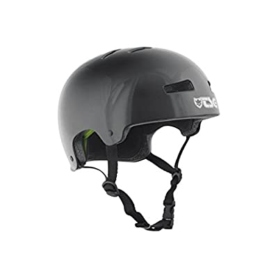 TSG Evolution Skateboard Helmet   CPSC Certified with EPS Impact Foam   Hard Shell Action Sports Head Protection with Customized Fit