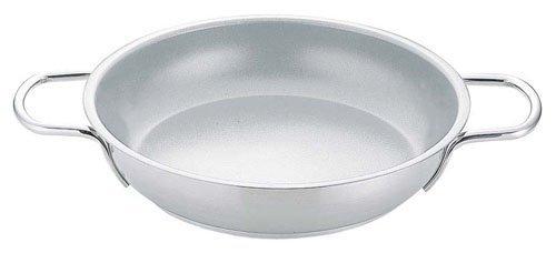 Stainless steel omelette bread 20 cm Both Handle Pan